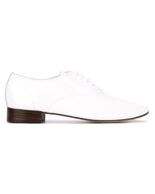 Repetto | Женское Белый Classic Lace-Up Shoes