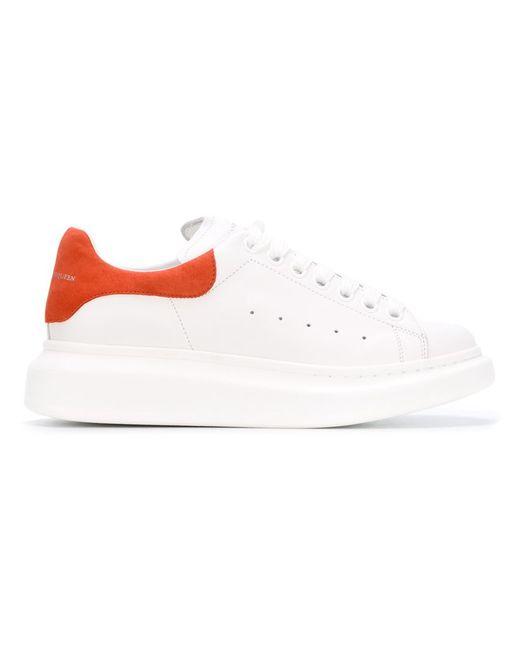 Alexander McQueen | Женское Белый Larry Extended Sole Sneakers