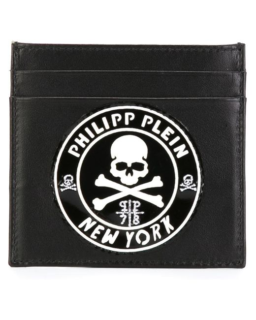 Philipp Plein | Мужское Чёрный Welcome To The Zoo Card Holder