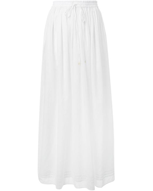 Fabiane Roux | Женская Белая Юбка На Резинке