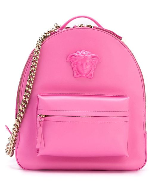 Versace   Женское Розовый Medusa Backpack