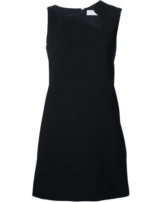Victoria Beckham | Женское Чёрный Irregular Neckline Dress