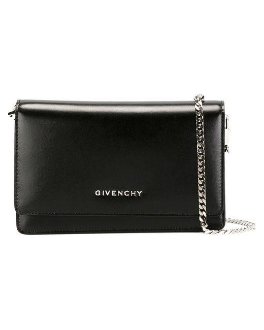 Givenchy | Женская Чёрная Сумка На Плечо Pandora