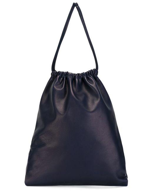 ISAAC REINA | Женское Синий Large Drawstring Pouch