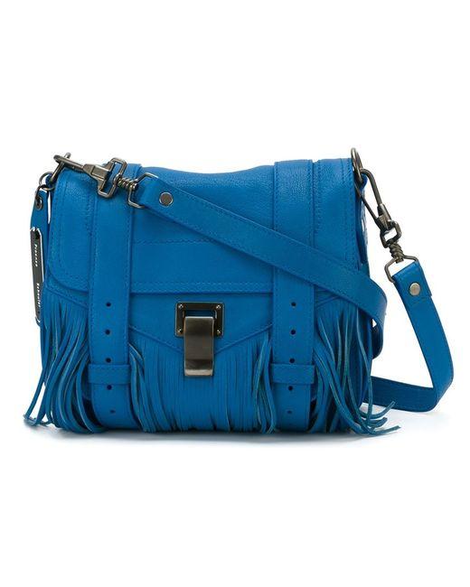Proenza Schouler | Женская Синяя Сумка-Сэтчел Ps1