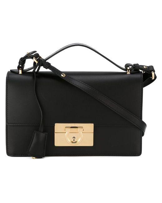 Salvatore Ferragamo | Женское Чёрный Aileen Shoulder Bag