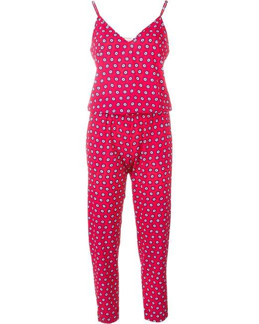 P.A.R.O.S.H. | Женское Розовый Geometric Print Jumpsuit