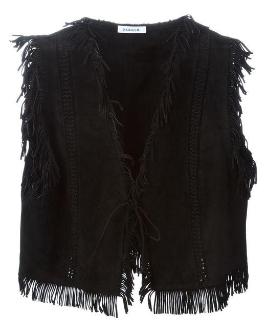 P.A.R.O.S.H. | Женское Чёрный Muland Waistcoat