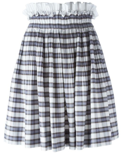No21 | Женское Белый Quadro Skirt