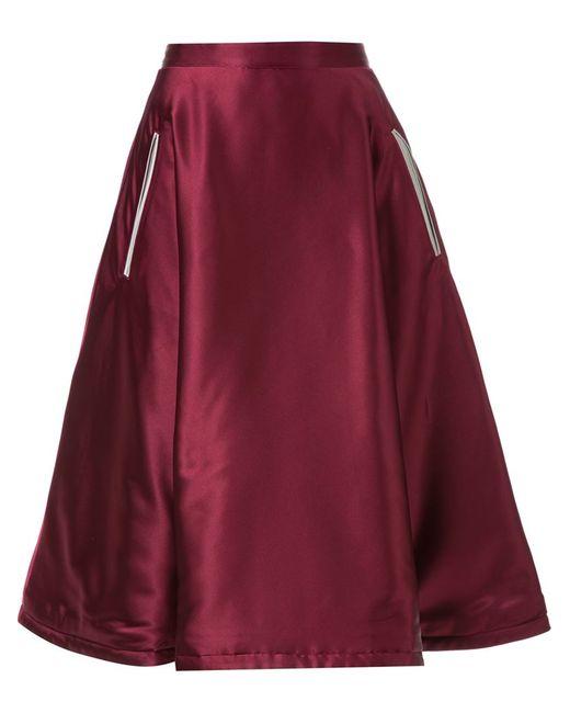 MURRAL   Женское Красный Dagger Embroidered Full Skirt