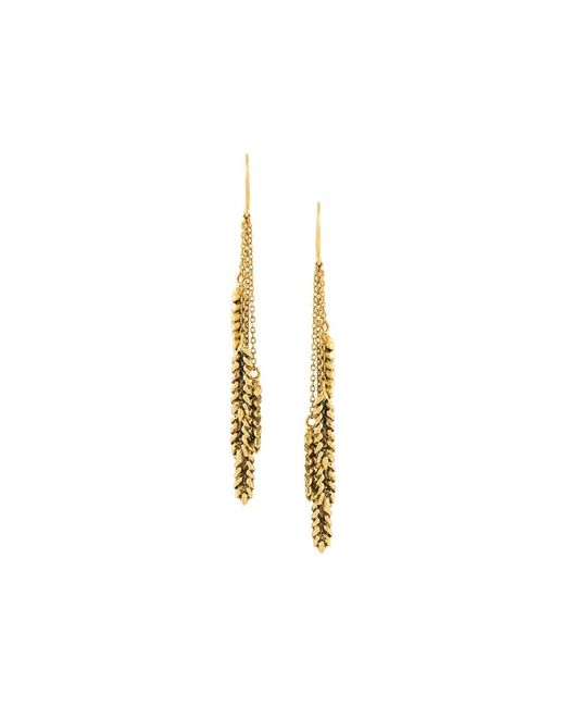 Aurelie Bidermann | Женское Серебристый Wheat Pendant Earrings