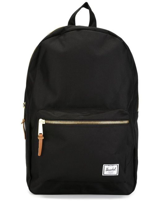 Herschel Supply Co. | Женское Чёрный Classic Zip Up Backpack