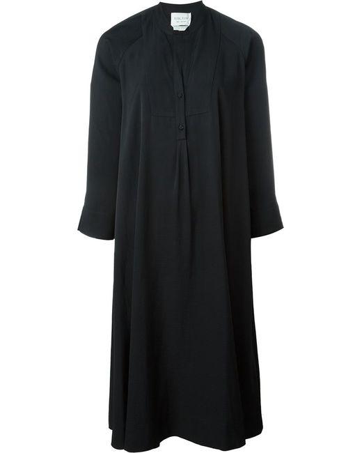 Forte Forte | Женское Чёрное Свободное Платье-Рубашка