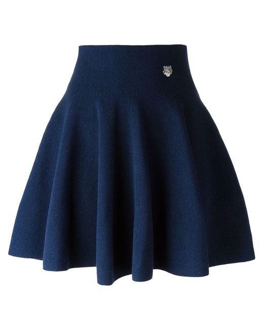 Kenzo | Женское Синий Pleated Mini Skirt