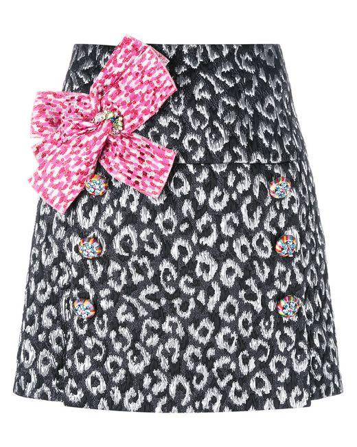 Dolce & Gabbana | Женское Чёрный Bow Front Mini Skirt 40