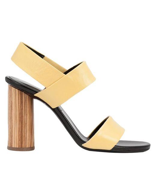Proenza Schouler | Женское Желтый Chunky Heel Sandals