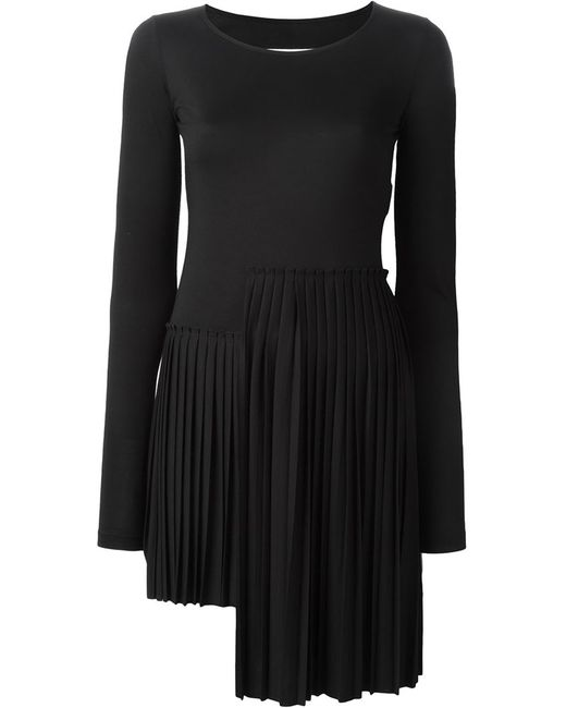 MM6 by Maison Margiela | Женское Чёрный Pleated Dress