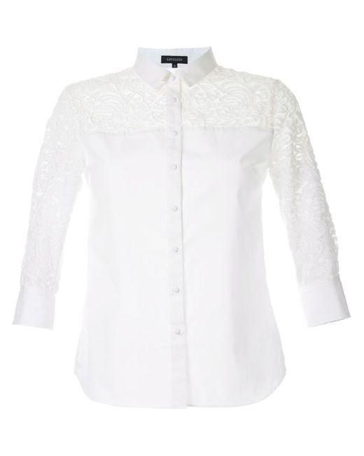 LOVELESS | Женская Белая Рубашка С Узором Пейсли