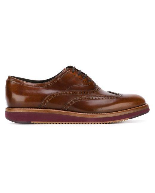 Salvatore Ferragamo   Мужское Коричневый Love Oxford Shoes