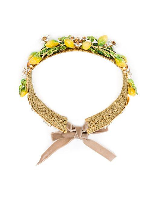 Dolce & Gabbana | Женское Серебристый Embellished Headband