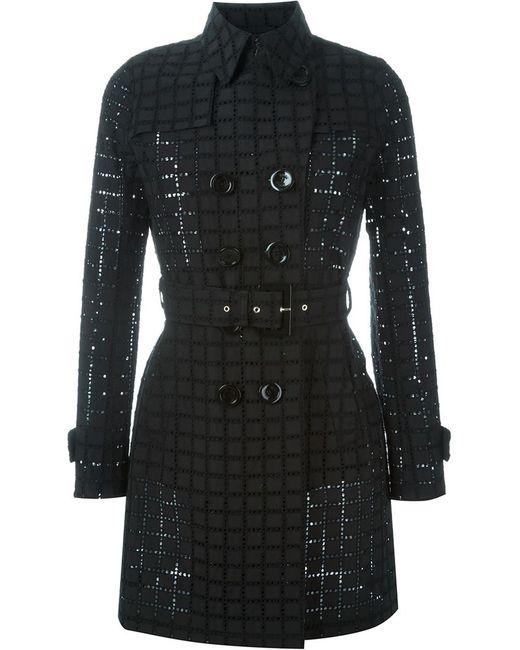 Herno | Женское Чёрный Double Breasted Belted Coat