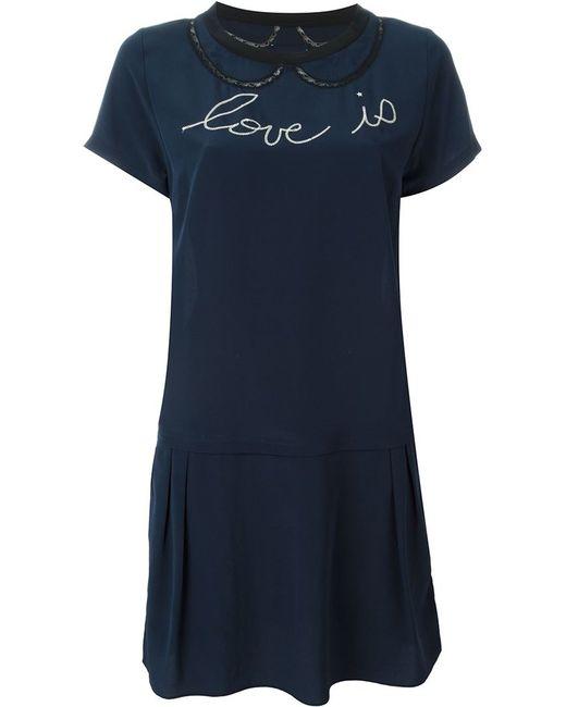 Zadig & Voltaire | Женское Синий Rubica Dress