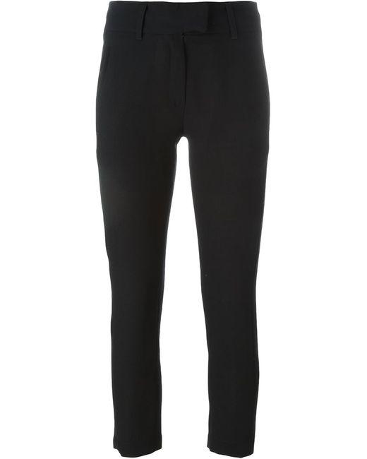 Ann Demeulemeester | Женское Чёрный Cropped Skinny Trousers
