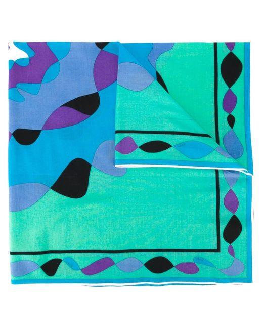 Emilio Pucci | Женский Многоцветный Платок С Абстрактным Принтом