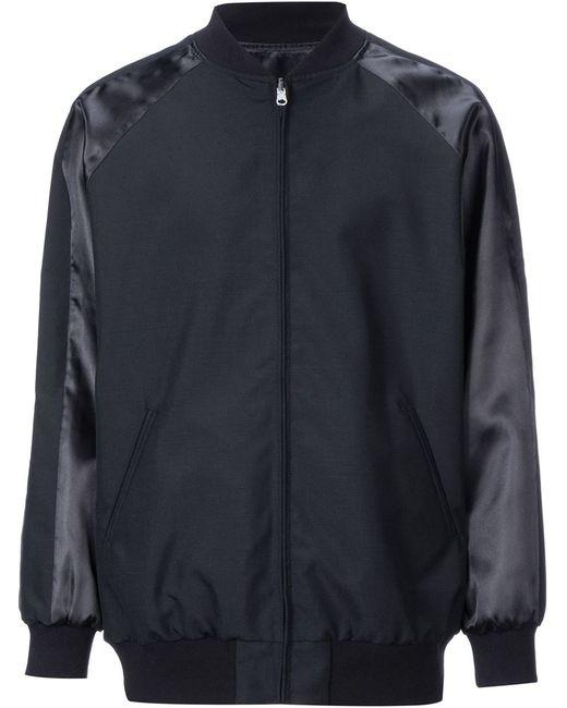 En Route | Мужская Чёрная Двухсторонняя Куртка На Молнии