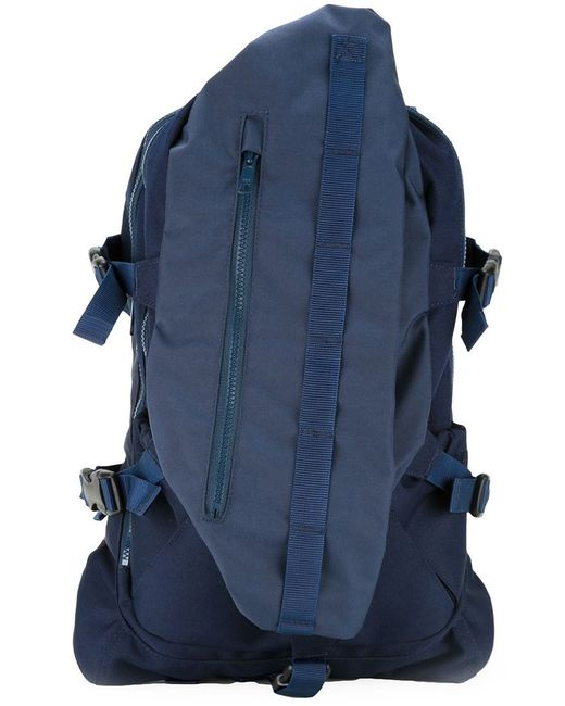 Meanswhile | Мужское Синий Cordura And Nylon Backpack