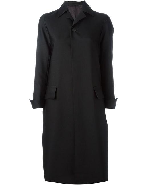 08SIRCUS | Женское Чёрное Пальто На Пуговицах