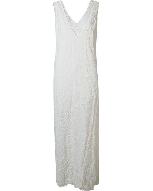 Uma | Raquel Davidowicz | Женское Белое Платье Voga