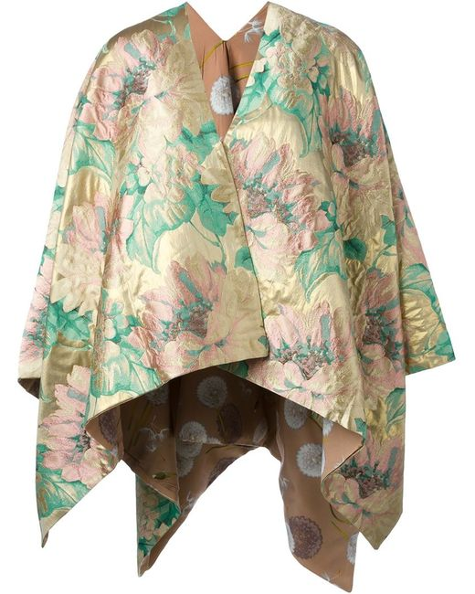 ERMANNO GALLAMINI | Женское Многоцветный Print Reversible Cape
