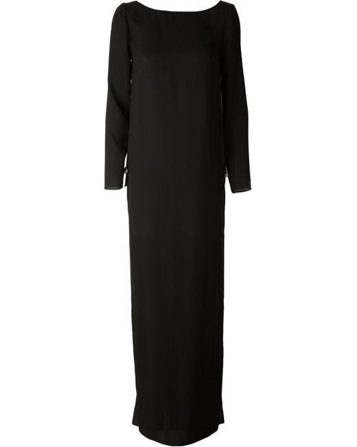 Versus | Женское Чёрное Вечернее Платье