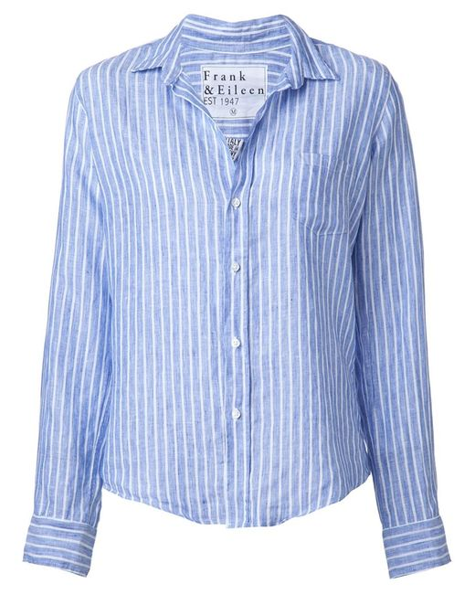FRANK & EILEEN | Женское Синий Striped Shirt