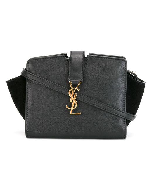 Saint Laurent   Женское Чёрный Toy Cabas Cross Body Bag Calf Leather