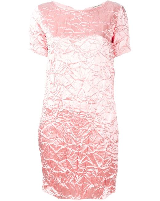Nina Ricci | Женское Розовый Creased Mini Dress