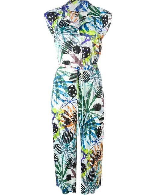 PLEATS PLEASE BY ISSEY MIYAKE | Женское Многоцветный Printed Pleated Midi Dress
