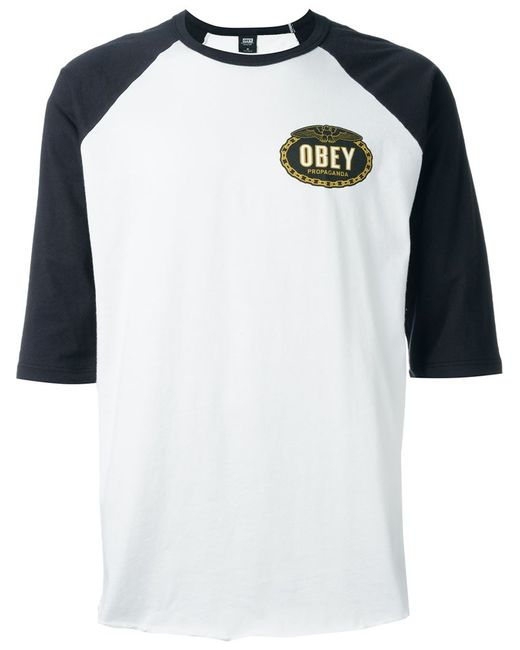 Obey   Мужское Белый Imperial Glory Eagle T-Shirt