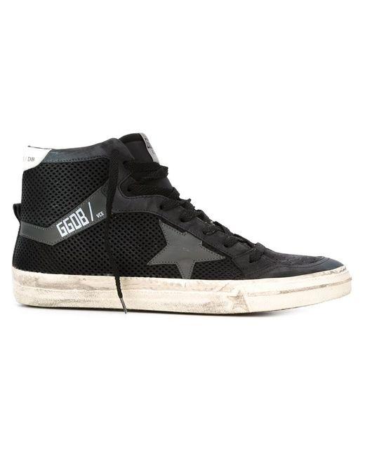 Golden Goose | Женское Чёрный Deluxe Brand 2.12 Hi-Top Sneakers