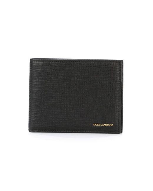 Dolce & Gabbana   Мужское Чёрный Billfold Wallet