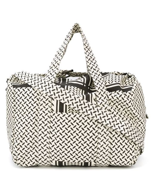 Lala Berlin   Женское Nude & Neutrals Tire Track Print Luggage Bag