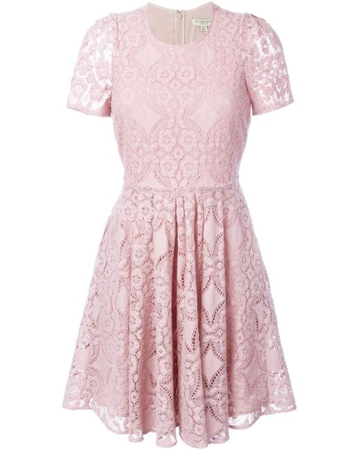 Burberry London | Женское Розовый Lace Flared Dress
