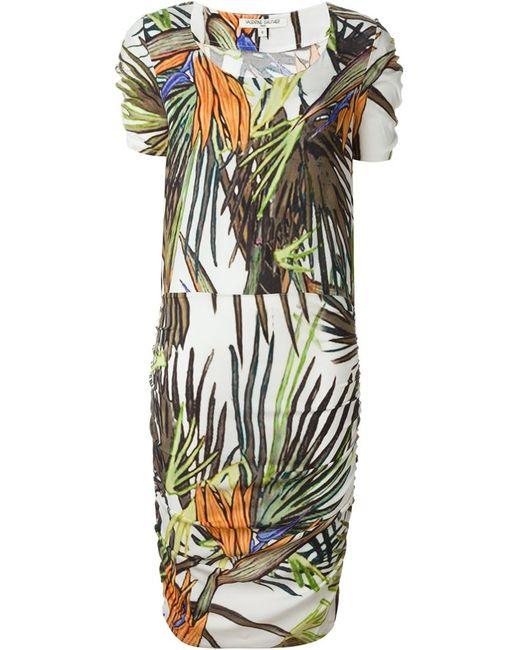 Valentine Gauthier | Женское Зелёное Платье Castéou Paradise Tree