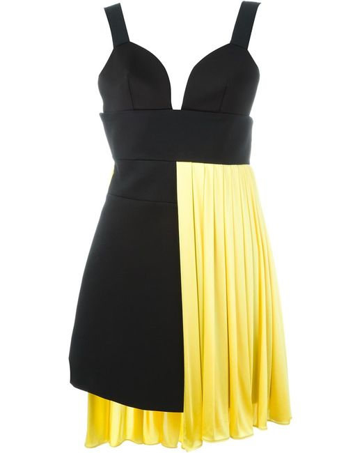 Fausto Puglisi | Женское Чёрный Asymmetric Short Dress