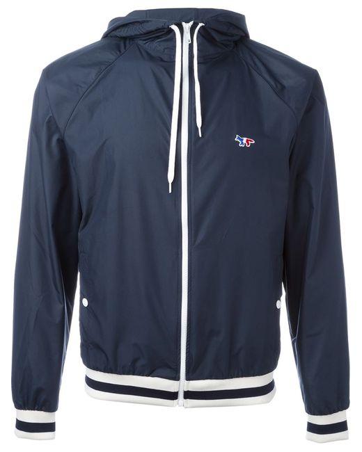 Maison Kitsune | Мужское Синий Zipped Hooded Jacket
