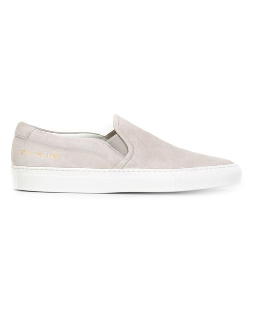 Common Projects | Женское Серый Classic Slip-On Sneakers