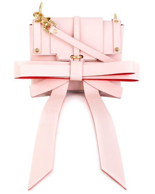 NIELS PEERAER | Женское Розовый Bow Detail Shoulder Bag