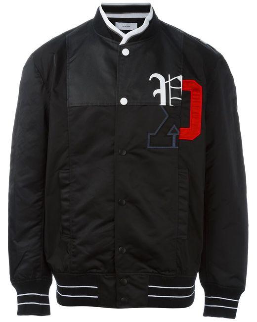 FACETASM | Мужская Чёрная Куртка-Бомбер С Логотипом
