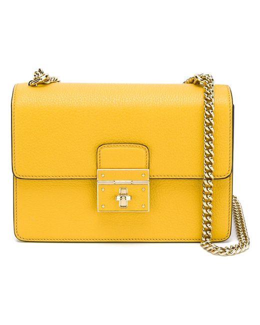 Dolce & Gabbana | Женская Жёлтая Сумка На Плечо Rosalia